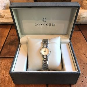 Concord La Scala Diamond SS Women's Watch